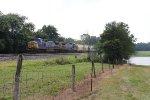 CSX 7900 & 7571 roll east through rural Indiana with Q368