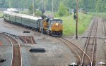 CSX 801, 9999 and P930-01 OCS clear the CP-SK block