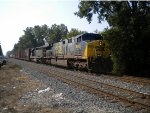 Short mixed freight with CSX 630 & 8873