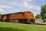 BNSF7861 and BNSF7172 passing Peck Park