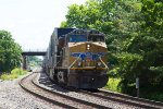 UP5365 passing Peck Park
