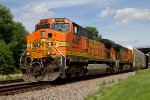 BNSF4489 and BNSF4436 passing Peck Park