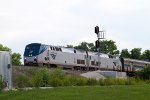 Amtrak22 and Amtrak173 passing Peck Park