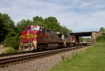 SF933 and SF263 passing Peck Park