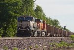 BNSF9819 waiting for a new crew