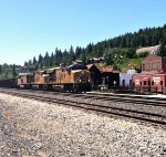 UP 7971 IN TRUCKEE