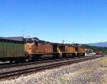 UP coal train in Truckee