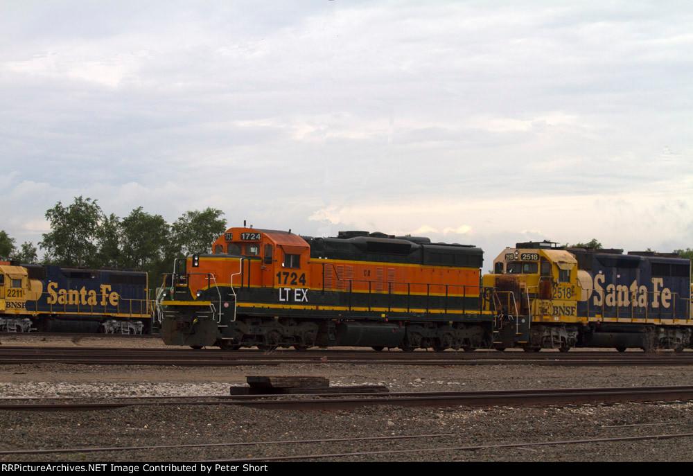 SF2211, LTEX1724 and SF2518