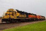 SF2796, BNSF2778, BNSF2667 and BNSF3182