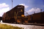 C&O 5748 GP7 switching Plymouth