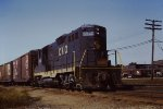 C&O 5940 GP9 Plymouth yard lead