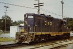 C&O 5946 GP9 Plymouth