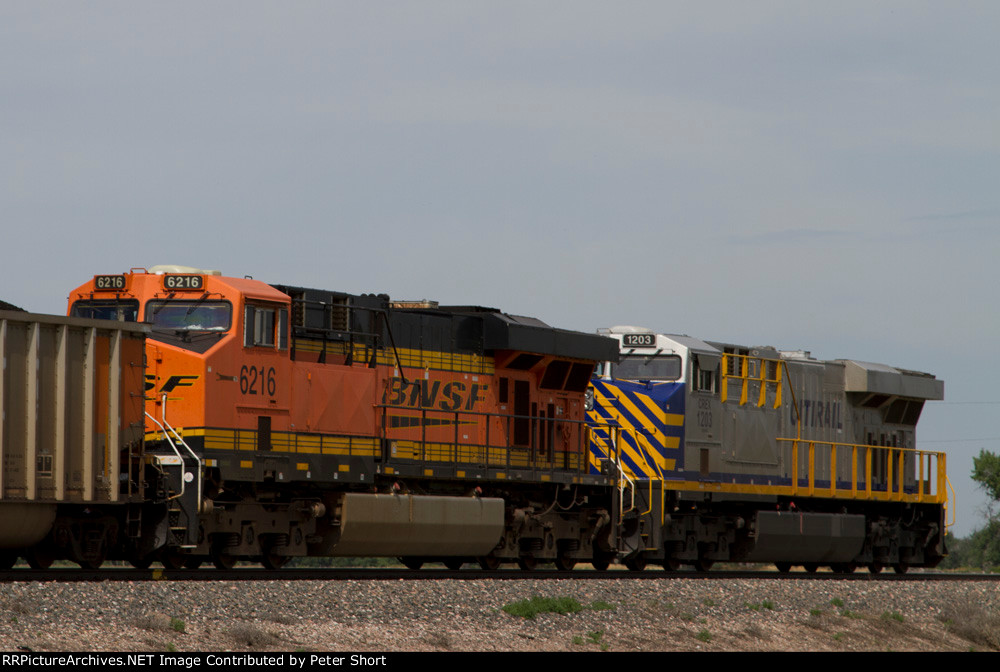 BNSF6216 and CREX1203