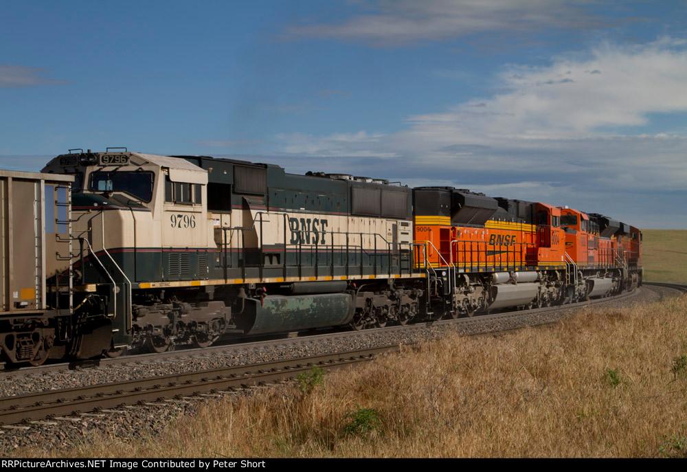 BNSF9796, BNSF9004, BNSF9082 and BNSF6266