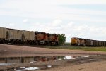 BNSF5661, BNSF5855, BNSF9978 and BNSF8930