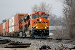 BNSF 7984 Leading at Fifth Street