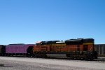 "BNSF9348 and ""pink"" wagon"