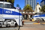 AMTK 455 and 453 rest at San Diego.