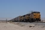 UP 9399 leads an autorack train