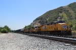 A UP intermodal heads up Cajon