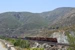 Intermodal coming up Cajon