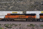 Closer view of BNSF 7044 descending Cajon