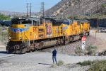 Another shot of the downhill UP manifest at Cajon Junction