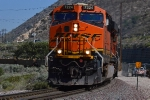 Another shot of BNSF 7224 leading a baretable downhill through Cajon Junction