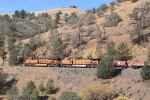 BNSF 6948 is in charge of the steel coil train