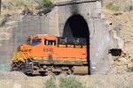 BNSF 6948 exiting Tunnel 16