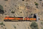 Another shot of BNSF 6948 exiting Tunnel 16