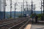 ACS pulling long distance train