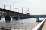 Perryville bridge looking south
