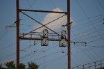 Interlocking signals for northbound trains
