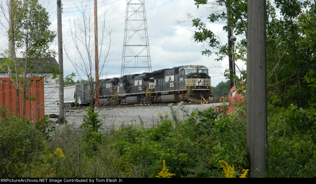 Nice View of NS Freight Waiting On Main In Macedonia
