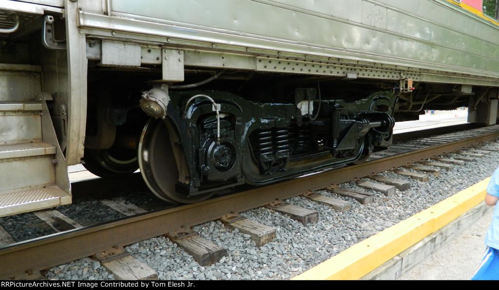 Repainted CVSR Passenger Car Trucks