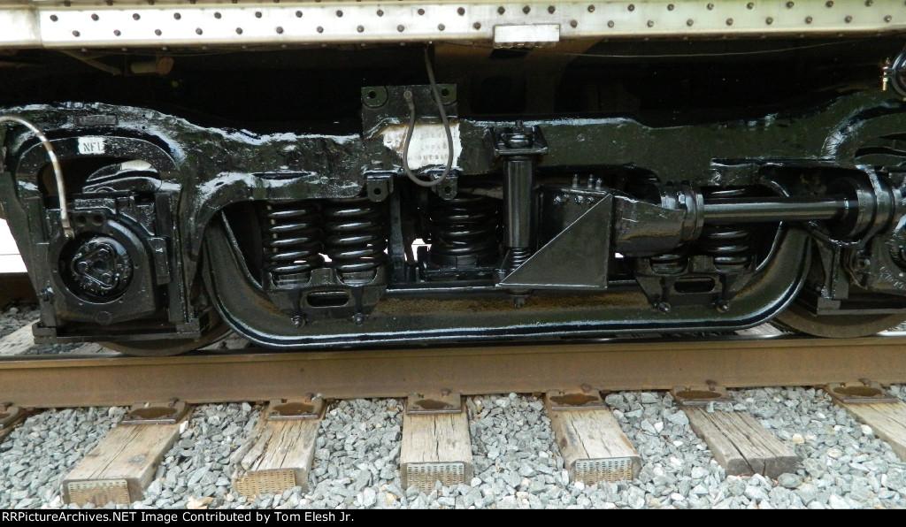 CVSR Repainted Passenger Car Trucks