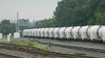 White Tank Cars Eastbound