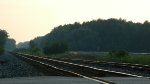 NS & CSX Tracks At Sunset