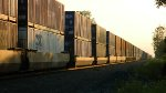 CSX Westbound Intermodal Heading Into The Sunset