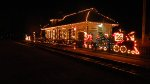 W&LE Bedford Falls Station At Christmas Time