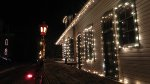 Another Picture I Took Upclose Platform View Bedford Falls Station At Christmas Time