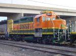 BNSF Lo-Nose GP7 3821