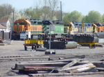 BNSF GP35 2621, SD40-2 6333, and GP38 2226