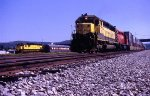 SD45 pulling a Susquehanna doublestack