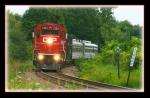"""CP 3124 """"TEC"""" Train"""