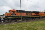 BNSF  591  in the deadlne at agentine
