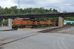 BNSF 7364  leads the boeing train at santa fe jct