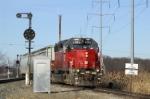 The 4085 comes off the CSX Toledo Subdivision onto the Ottawa (Ohio) Industrial Loop.