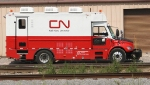 CN Rail Flaw Detector